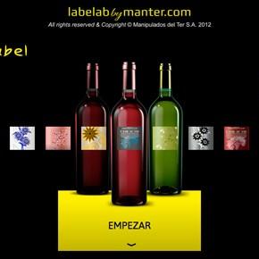 Simula etiquetas de vino