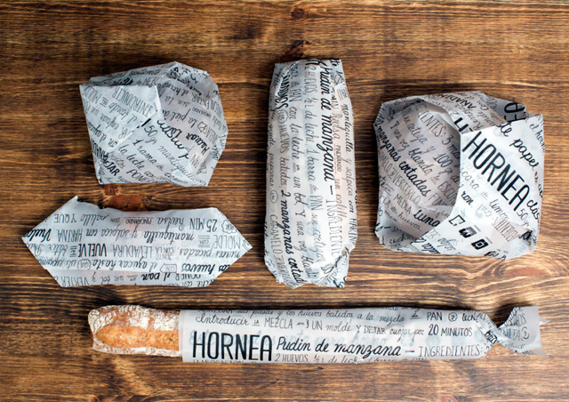 Ecopackaging: HORNEA