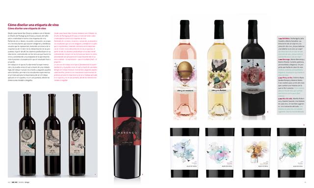Como diseñar una etiqueta de vino