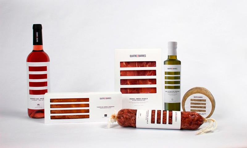 Quatre Barres de Laura Aguilar, Sara García y Marta Lladó. Master en Diseño de Packaging de ELISAVA, 2014-2015