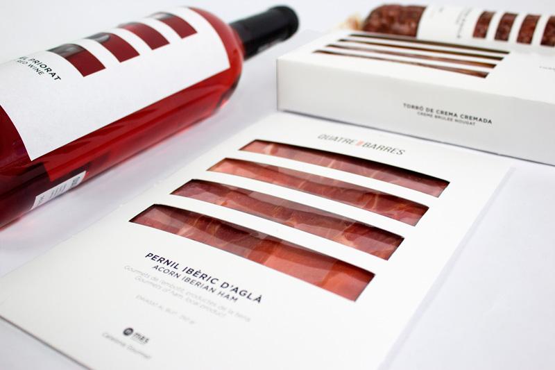 Quatre Barres de Laura Aguilar, Sara García y Marta Lladó. Master en Diseño de Packaging ELISAVA, 2014-2015