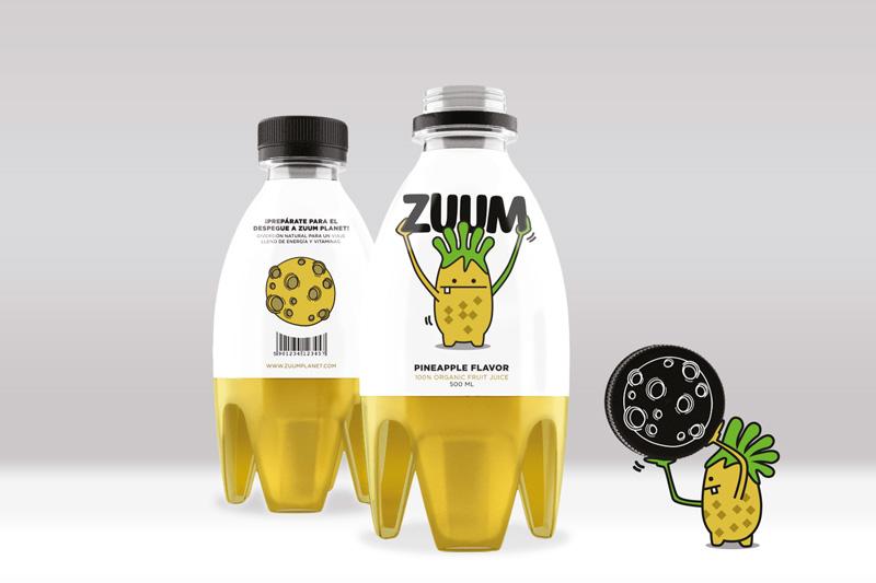 ZUUM de Sara García y Alejandro Lodoño. Master en Diseño de Packaging ELISAVA