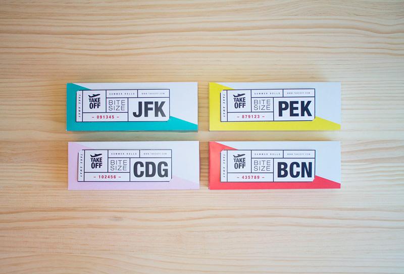 Packaging take away. Juliana García, Barbara Gonzalez, María Paulina Reséndiz y Mónica del Rio. Máster en Diseño de packaging ELISAVA, 2014-2015