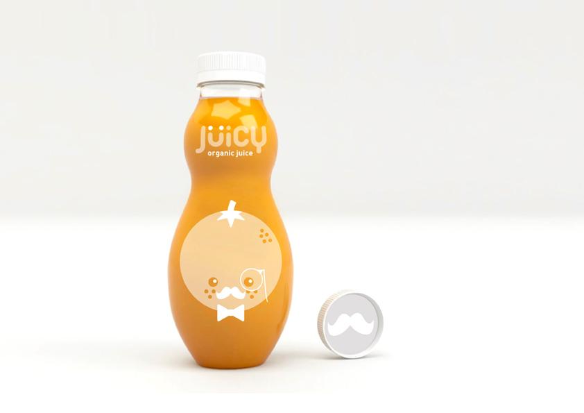 Jüicy de Lucía Eirea y Mireia Ordeix. Máster en Diseño de packaging ELISAVA, 2014-2015