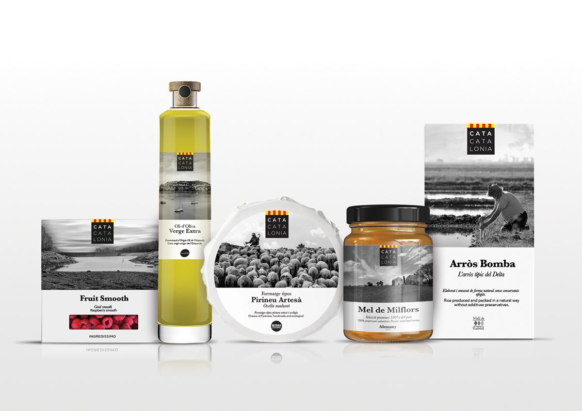Cata Catalonia de Loreley Videla y Mireia Ordeix. Master en Diseño de Packaging ELISAVA, 2014-2015