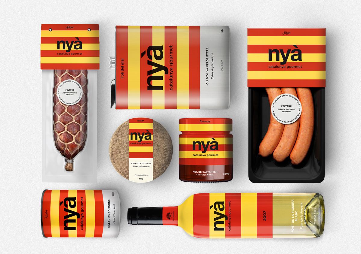 Nya de Lucia Eirea y Laura Planas. Master en Diseño de Packaging ELISAVA, 2014-2015