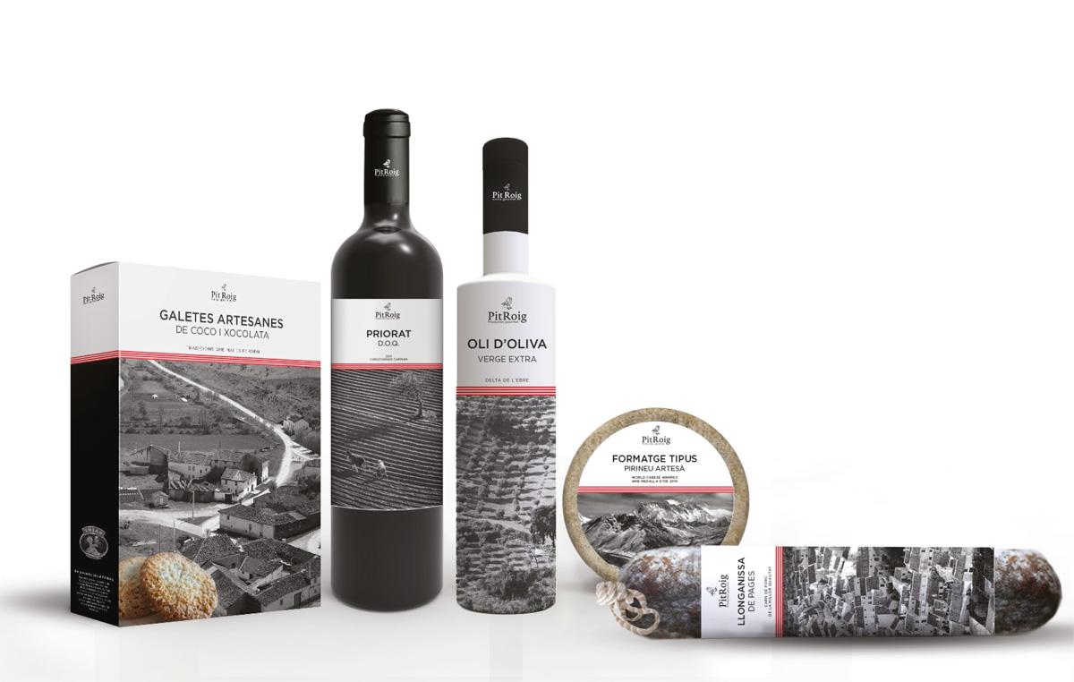 Pit Roig de Alberto Cardona y Albert Pablo. Master en Diseño de Packaging ELISAVA, 2014-2015