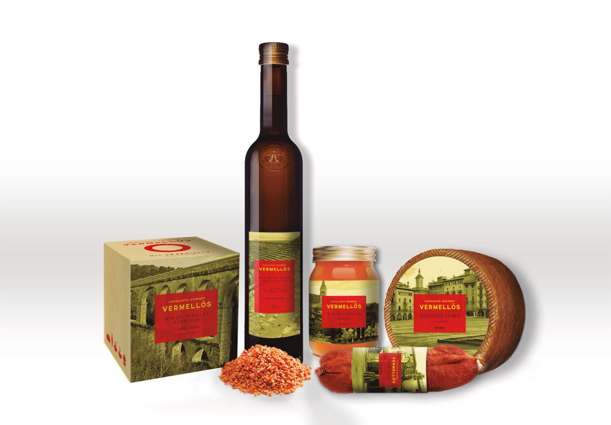 Vermellós de Mónica del Rio, Breily Lamby y Valentina Uribe. Master en Diseño de Packaging ELISAVA, 2014-2015