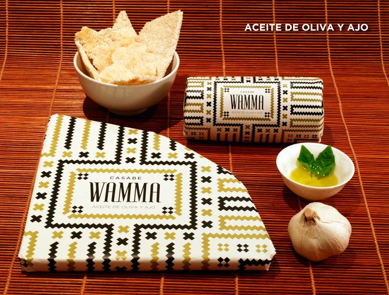 Casabe Wamma, de Loreley Videla. Master en Diseño de Packaging de ELISAVA, 2014-2015.