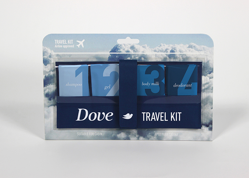 Travel Kit de Sergio Jiménez, Bárbara Kirsch y David Pla. Master en Diseño de Packaging de ELISAVA, 2014-2015.