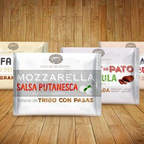 El menú del Pizzaiolo