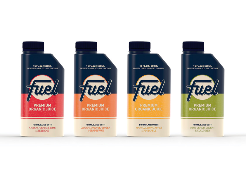 Fuel de Fernanda Madrigal, Nancy Nieto y Isabel Tabarini. Master en Diseño de Packaging de ELISAVA, 2015-2016.