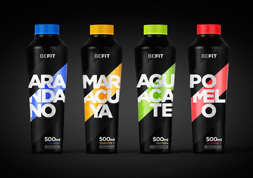 BeFit de Claudia Lepesqueur, Maria Elipe y Cristian Varela. Master en Diseño de Packaging de ELISAVA, 2015-2016.
