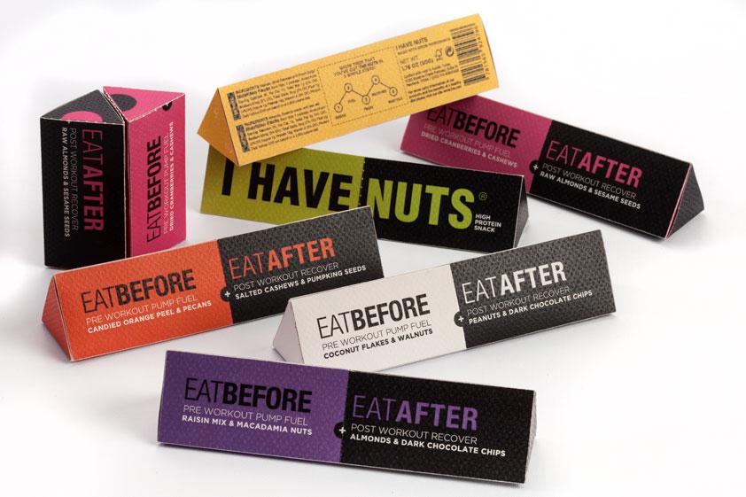 I Have Nut de Fernanda Madrigal, Nancy Nieto y Isabel Tabarini. Master en Diseño de Packaging de ELISAVA, 2015-2016.