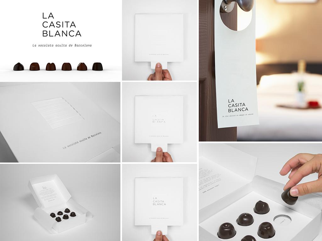 La Casita Blanca, de Cristian Varela, Laura de Miguel y Maria Romero. Master en Diseño de Packaging de ELISAVA, 2015-2016.