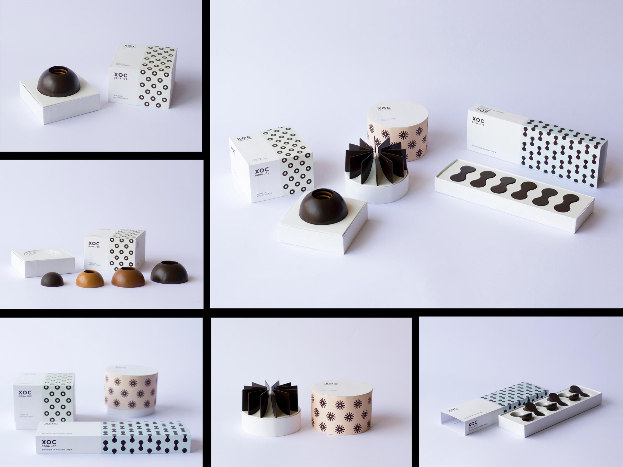 Xoc, de Maria Lopez, Macarena Norambuena y Mario Montull. Master en Diseño de Packaging de ELISAVA, 2015-2016.