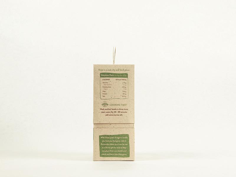 Grow with me! de Cristina Castells, Ma Fernanda Peña y Andrea Ribera. Master en Diseño de Packaging de ELISAVA, 2015-2016.